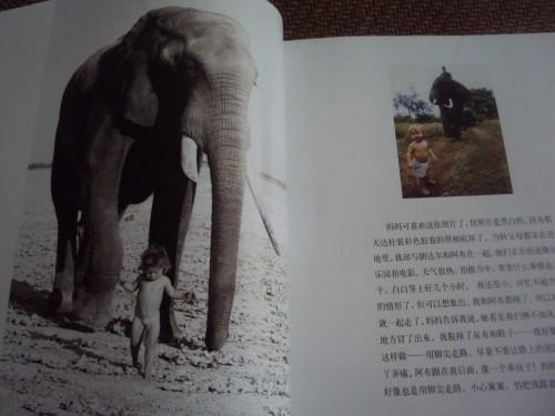 《我的野生动物朋友》2000年在巴黎出版后,很快译成德,日,英等文字