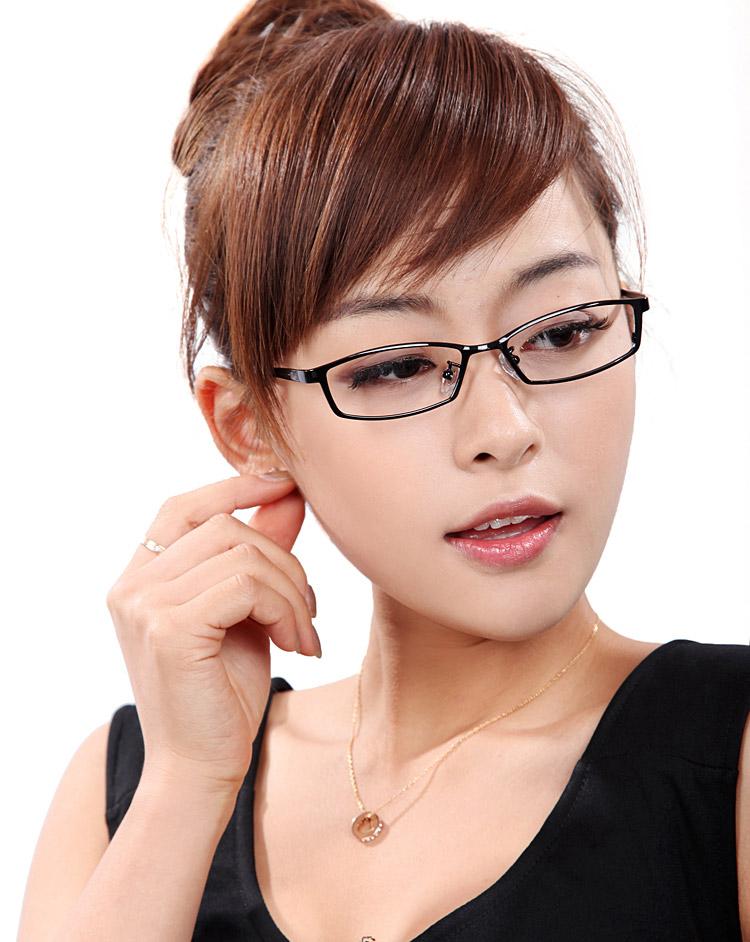 康视顿眼镜框 近视 女式款超轻纯钛眼镜架