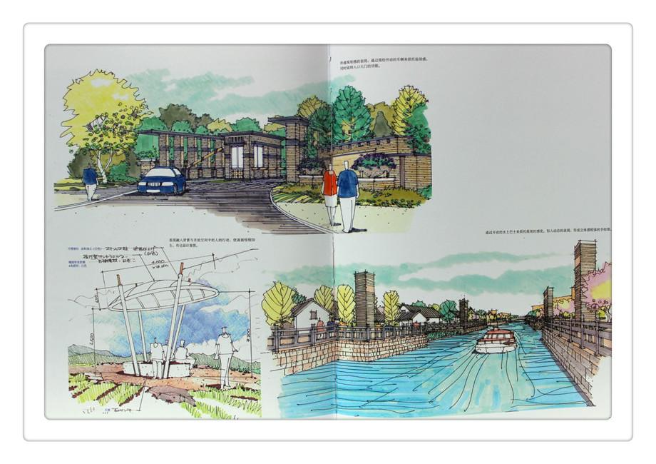 景观设计手绘表现 3