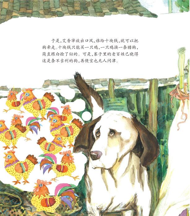 沈石溪动物彩色绘本(全10册) 和乌鸦做邻居 猫狗之间 会做贸易的狐狸