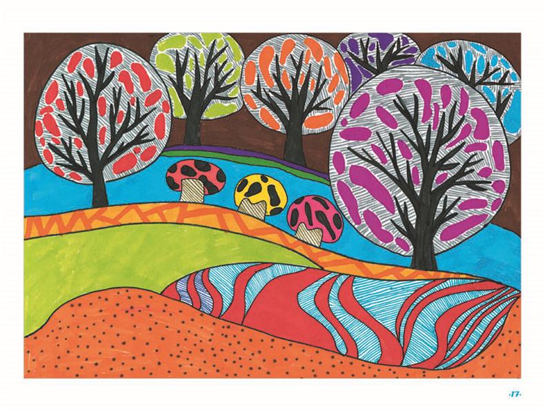 装饰画/纸浆画/手工制作/牛皮纸画名师指导绘画教程儿童创意画册幼儿
