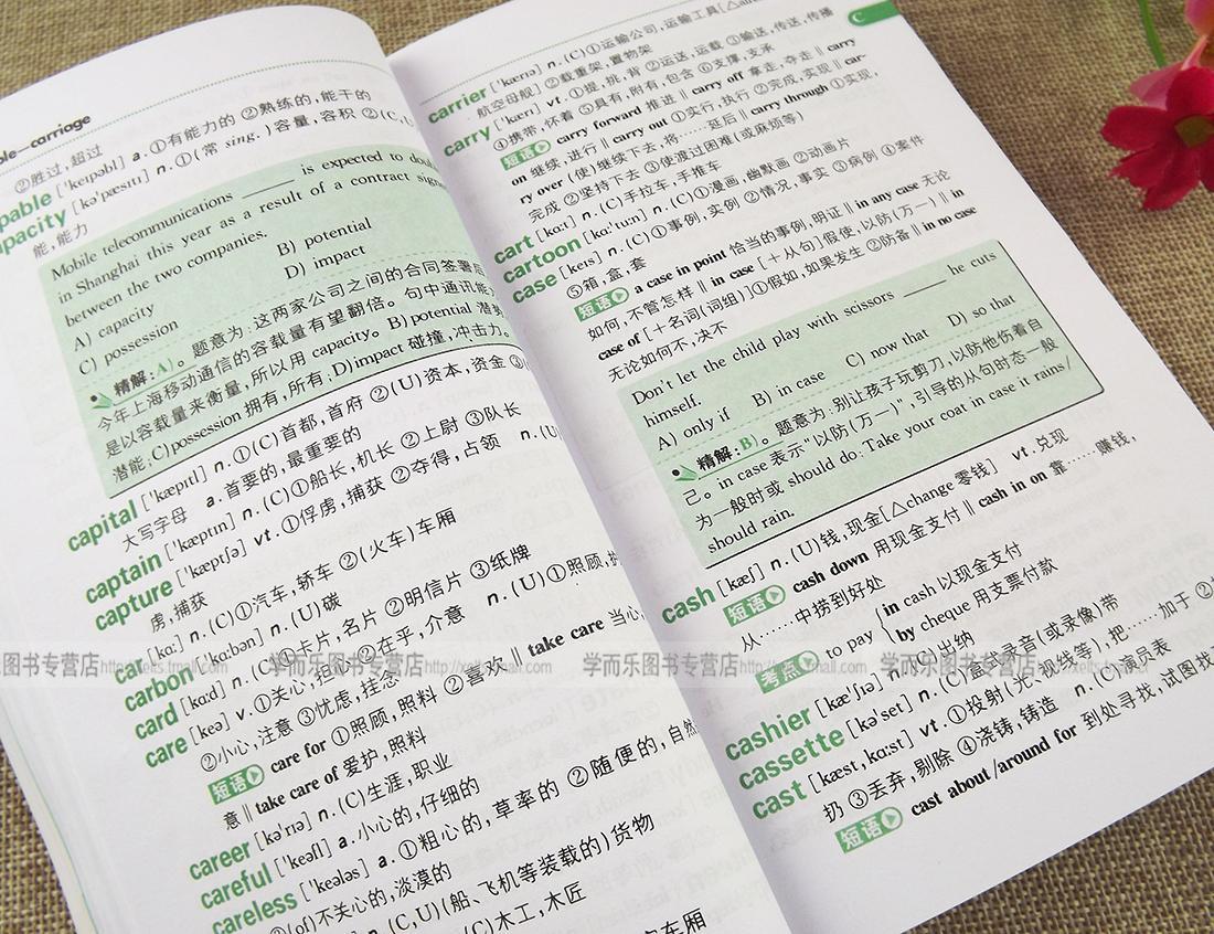 版 星火英语spark 新大学英语词汇必背 高中版 突破大纲4795词 大学图片