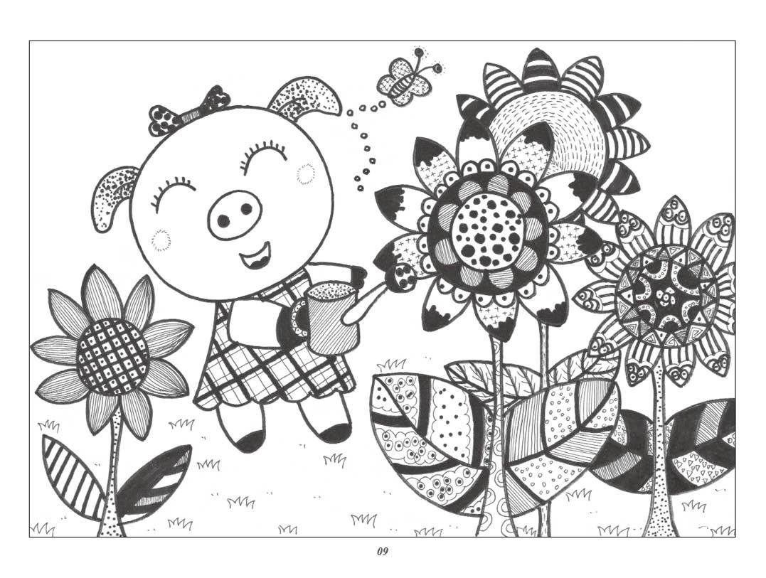 儿童画基础教程 儿童学画画怎么入门 教你宝宝学画画经典10招图片
