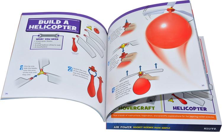 气垫船飘过餐厅的桌子,直升机直接绕着房间飞,还有发射一枚气球动力的