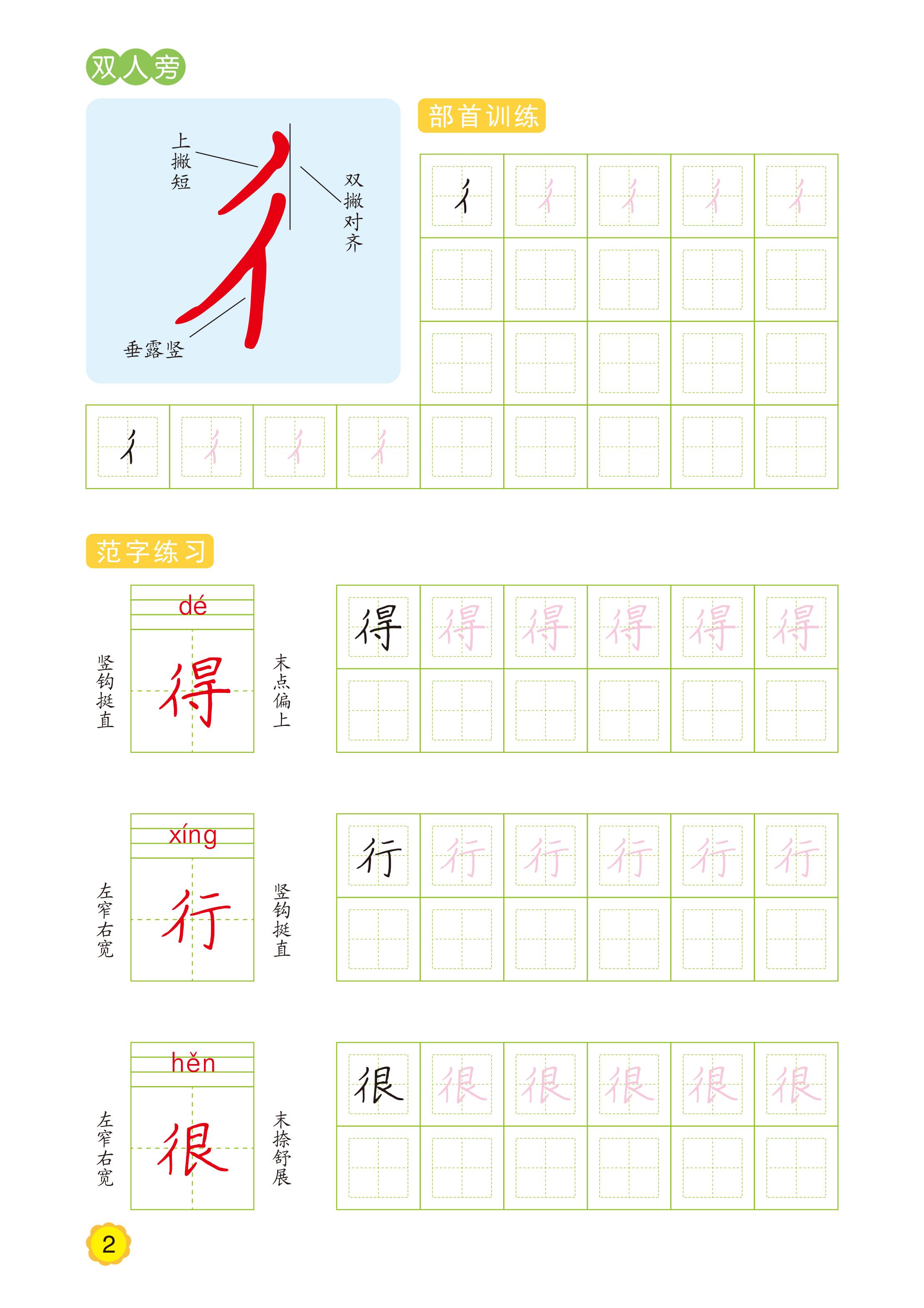幼儿学前字帖数字英文拼音汉字笔画拼音共6本 儿童幼儿园规范汉字书写