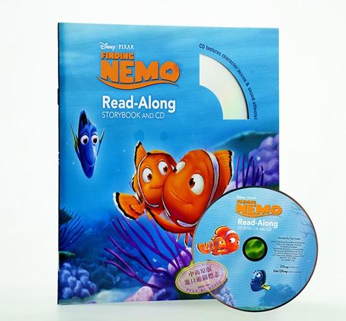 海底总动员 英文原版 finding nemo read-along cd经典迪士尼有声书