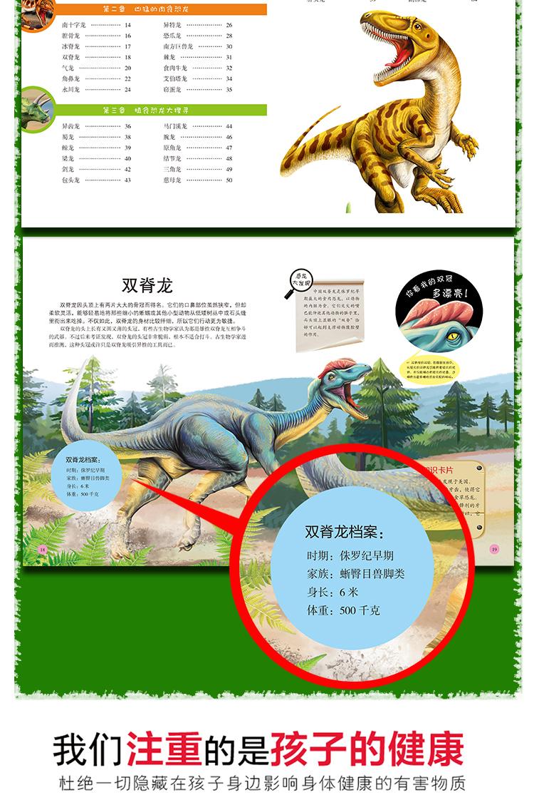 恐龙简笔画图片大全集