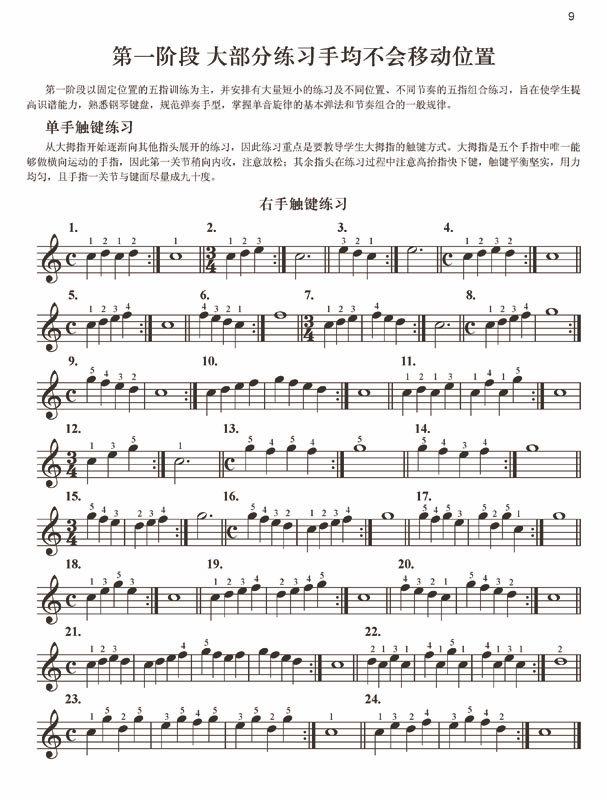 ,请大家要注意高低音谱号的识谱转换和练习中力度的变化,选择正确