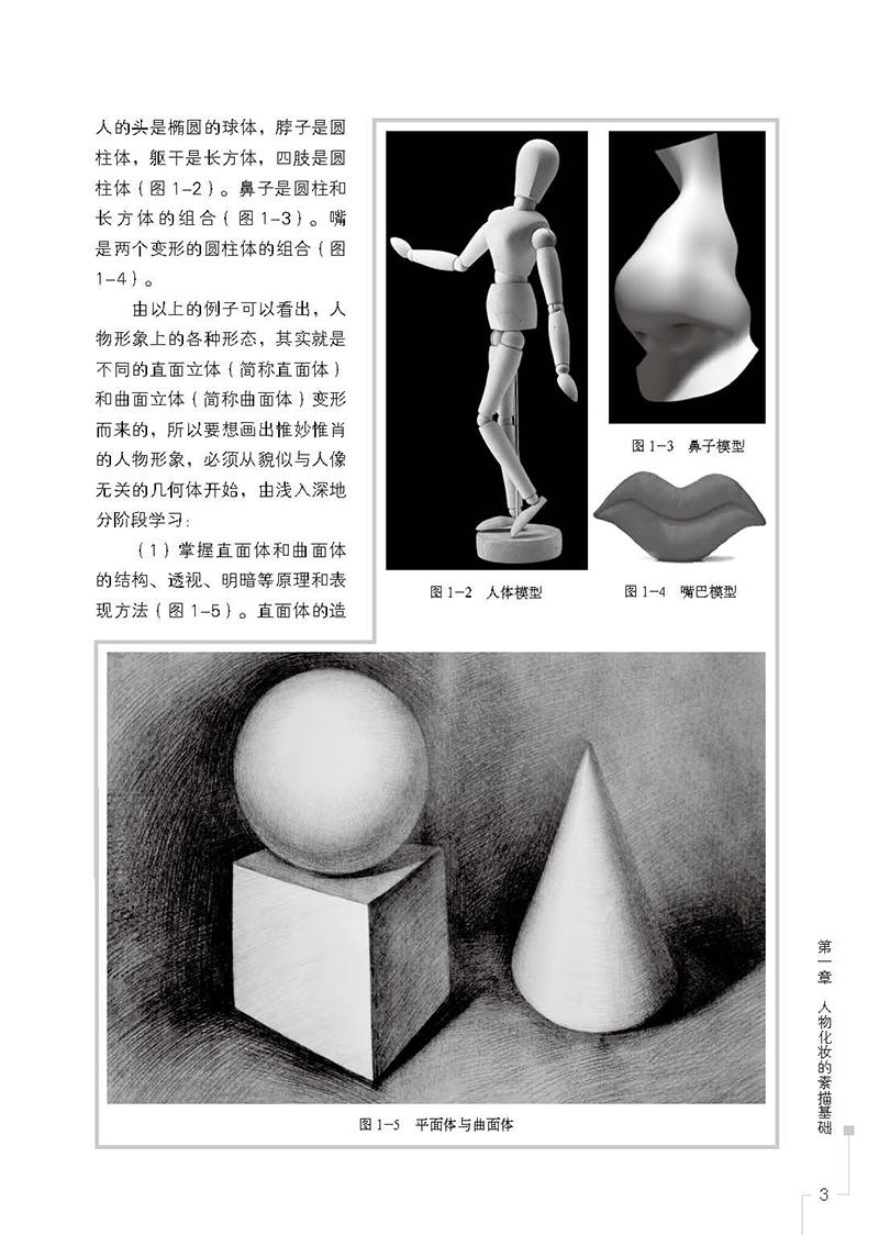 ……………34 第3 节 鼻子的结构与