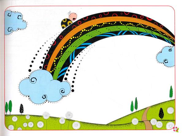 儿童线描画入门 线描景物
