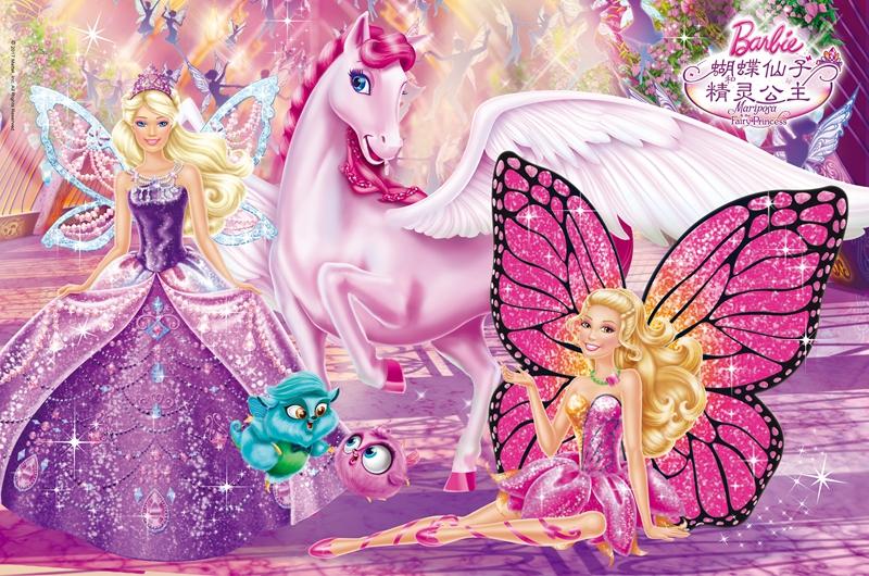请介绍一些像小叮当奇妙仙子一样的电影,或芭比蝴蝶仙子一样的,就是图片